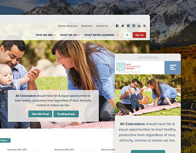 Colorado Trust Responsive Redesign
