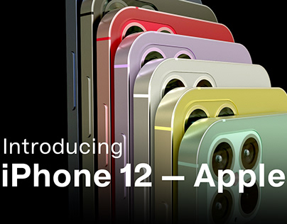 Introducing iPhone 12 - Concept
