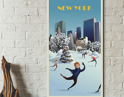 THE JOY OF CHRISTMAS. Personal project of the POSTCARD