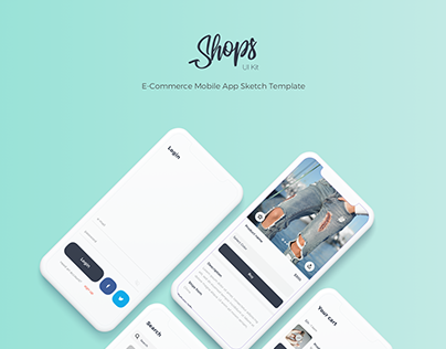 Shops - e-commerce UI Kit