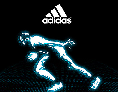 Concept Design//Poster for Adidas Store