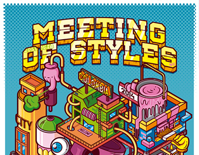 Official poster Meeting off Styles - Colombia 2014 :D