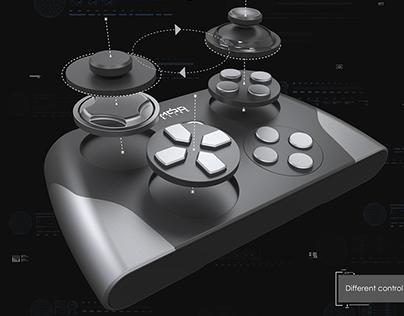 Concept of modular game controller