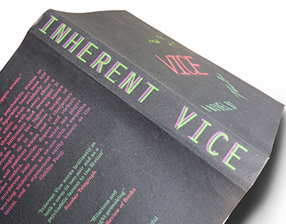 Inherent Vice - Book jacket