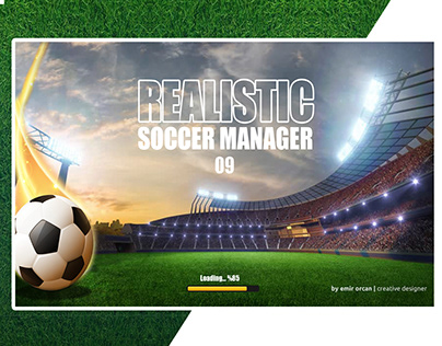 Realistic Soccer Manager 09 Mobile Game App