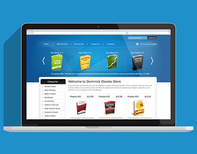 EBOOK Store - Web Design