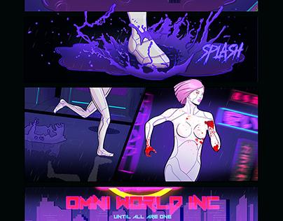 Neon Wasteland AR Comic Prototype