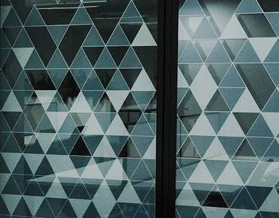 Windows Graphics Design for The Hub CBD Sydney