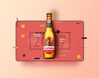 Beer Website UI UX Design