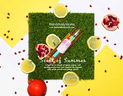 Scent of Summer | Bath&Body Works Advertorial