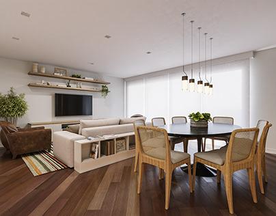 Projeto Residencial - Apartamento PF