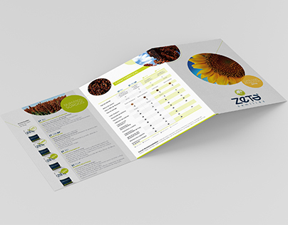 Zeta Semillas - Flyer y Brochure