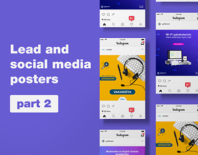 Lead and social media poster