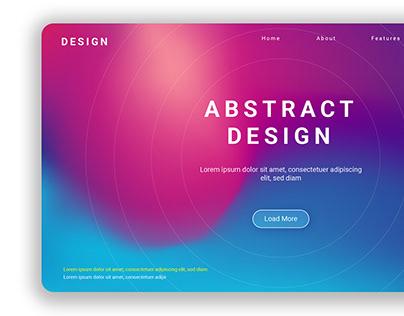Landing Page Design | Adobe Illustrator