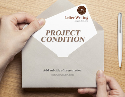 Free Letter Writing Powerpoint Presentation Template