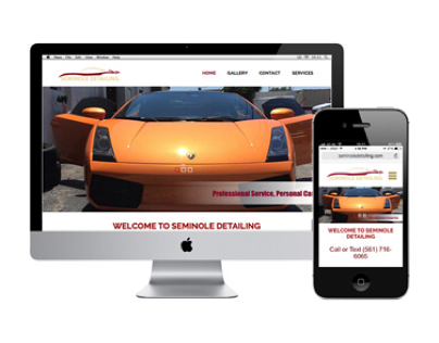 Seminole Detailing Website