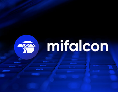 Mifalcon Home Security Brand & App Concept
