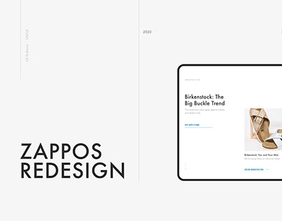 Zappos Redesign