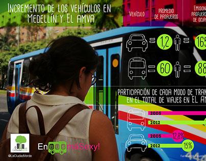 #EnBusMáSexy! Campaña de Sostenibilidad Creativa