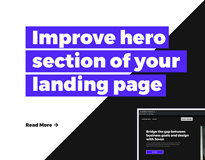 Landing Page Hero Section: Convert More
