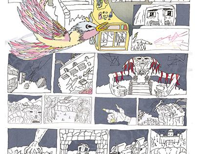 Castillos enemigos - Comic
