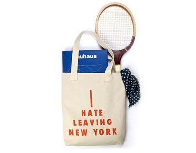 I HATE LEAVING NEW YORK