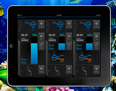 Saltwater Aquarium UI/UX Design