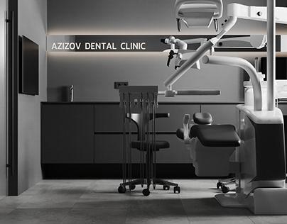 "HEALTHCARE INTERIOR DESIGN ""Dr. Azizov's dental clinic"""
