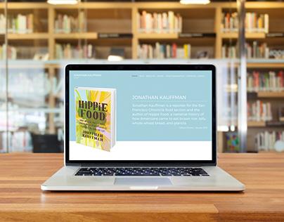 Hippie Food Website by DK Design Studio