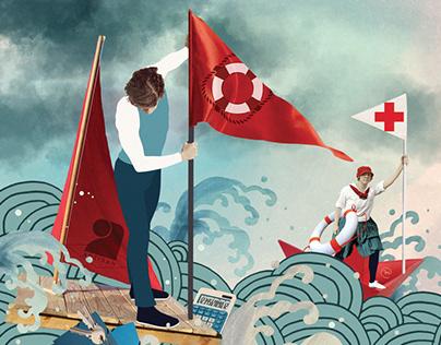 Illustration presse / Le Monde des Artisans