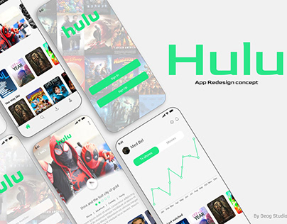 Hulu App Redesign Concept - Light Edition