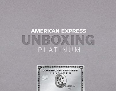 AMERICAN EXPRESS :: THE PLATINUM CARD :: UNBOXING
