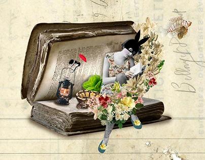 Bunnyland - Collage Series