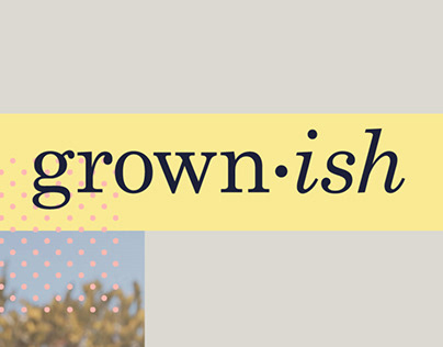 Grown-ish Graphic Promo Package