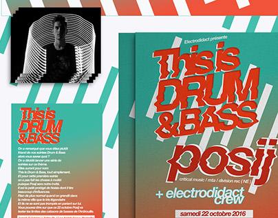 electrodidact present this is dnb #1 : posij / 2016