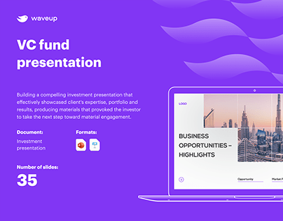 VC Fund Presentation
