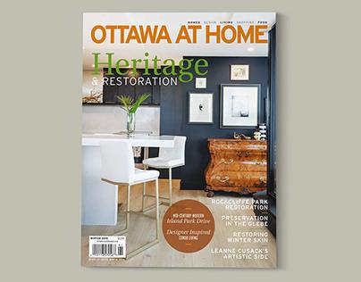 Ottawa At Home Magazine | Winter 2019 Issue