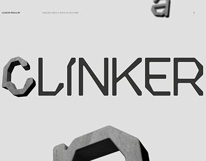 CLINKER - DISPLAY & 3D FONT (FREE VERSION)