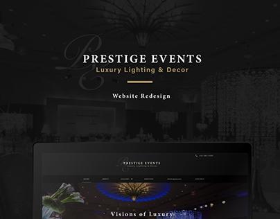 Luxury Light & Decor Site Redesign