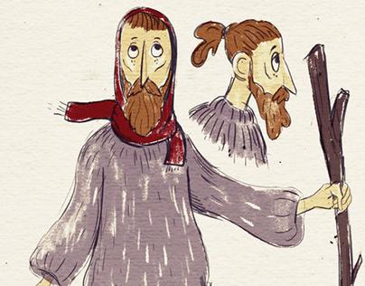 character design (homeless)