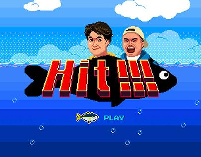 """Pixel MV """"Hit!!!"""" / Pixel Art"""