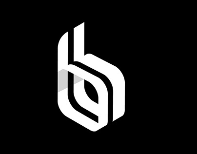 Letter B logo Tutorial