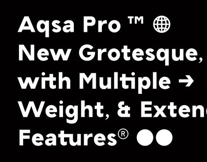 TG Aqsa Grotesque Pro ™