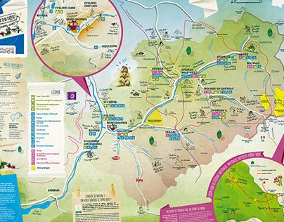 Carte touristique été/hiver Guillestrois-Queyras