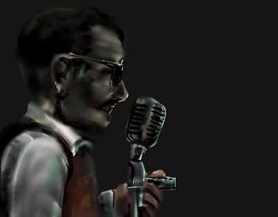 musician sketches