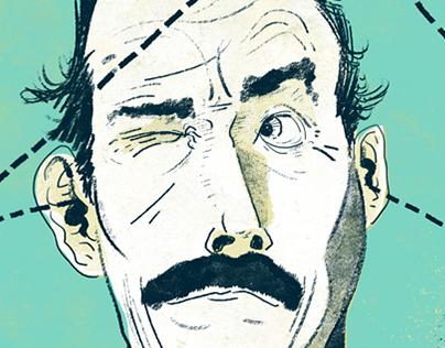Portraits: John Cleese, Frank Thornton, Anne Rice