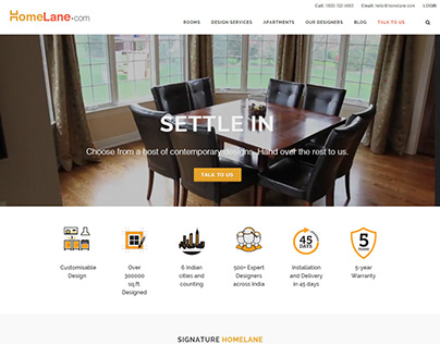 UX / UI - Modular Interior Furniture Solution