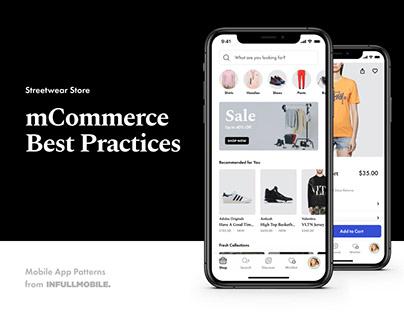 mCommerce Best Practices – Streetwear Mobile App