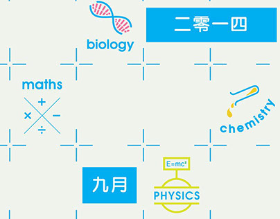 Chunngai Tutorial Centre 2014 Poster Design