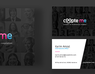 coopte me - Business Card